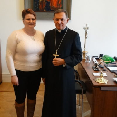 Przekazanie relikwii dla parafii, Lwów 09.02.2017